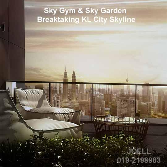 sky garden 540
